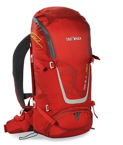 TATONKA Skill 30 litre Day Pack in Red with X vent Zero system carry system