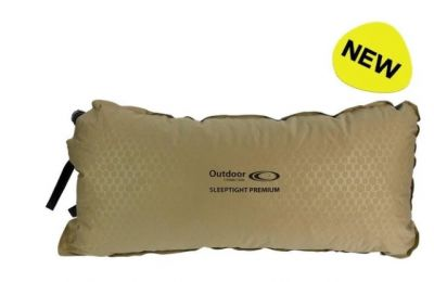OUTDOOR CONNECTION Sleeptight Premium Self Inflating Pillow