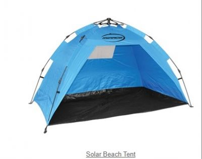 Solar Beach Tent - instant up