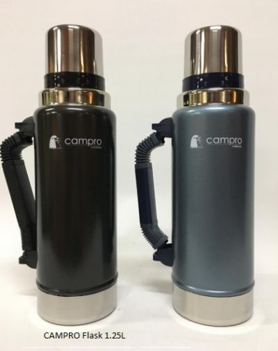 CAMPRO Stainless Steel Flask 1.25 litre