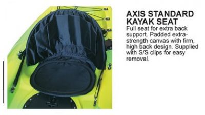 AXIS Standard Kayak Backrest with Seat