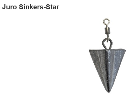JURO Star Sinkers - Various sizes