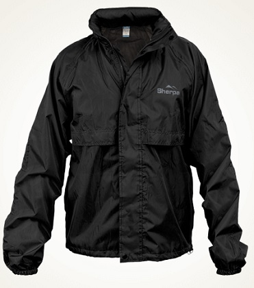 SHERPA Hiker Staydry Mens Jacket in Black