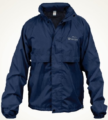 SHERPA Hiker Staydry Mens Jacket Navy