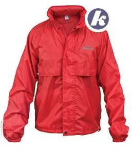 SHERPA Hiker Staydry Mens Jacket in Red