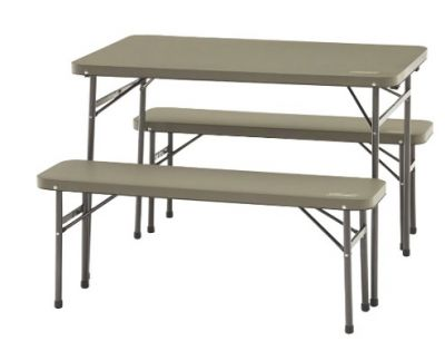 COLEMAN Table and Bench Set