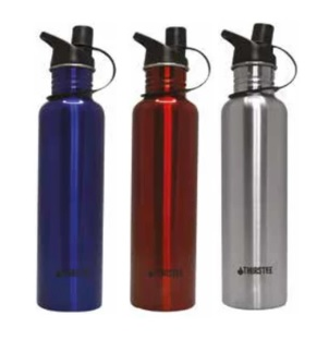 THIRSTEE Stainless Steel Drink Bottle 750ml