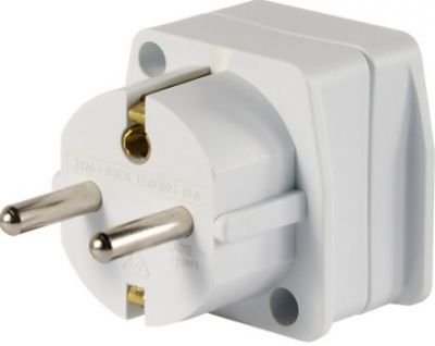 GO TRAVEL Adaptor AU/NZ to Europe