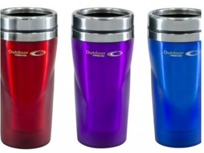 OUTDOOR CONNECTION Travel Mug Stainless Steel No Handle 450ml