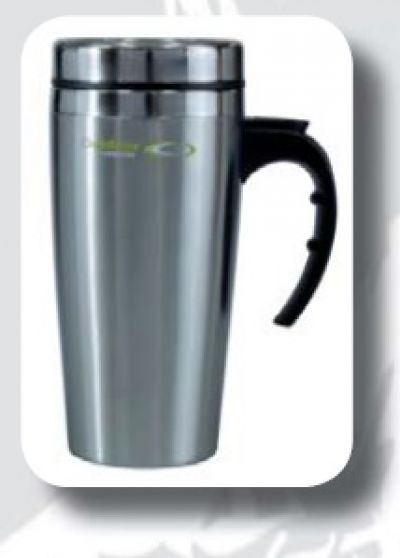 OUTDOOR CONNECTION Stainless Steel Double Wall Travel Mug 450ml