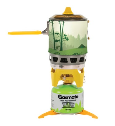 GASMATE Turbo Butane Stove and Pot Set