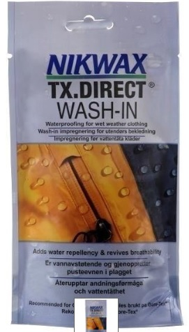 NIKWAX TX Direct Wash in for waterproofing clothing 100ml