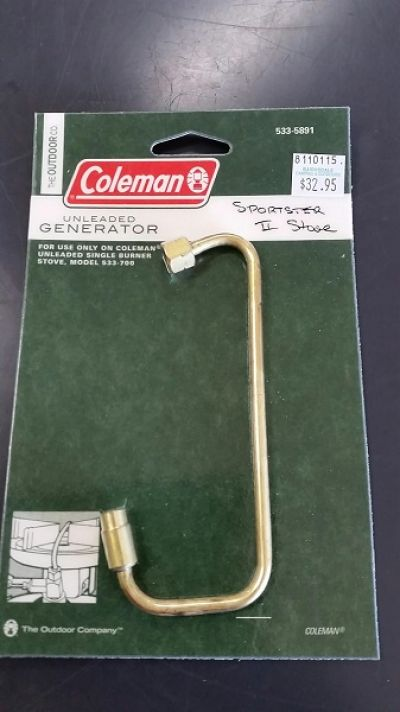 COLEMAN Unleaded Generator for Single Burner Stove