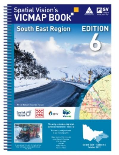 Vic Map Book South East Region Edition 6