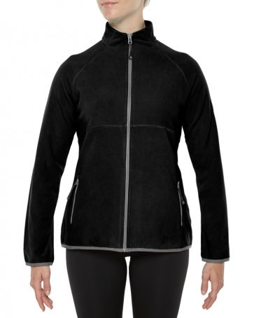 VIGILANTE Womens Variable Fleece Jacket Black
