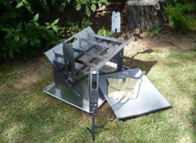SLOT ME IN Wedge Fire Pit Combo Kit