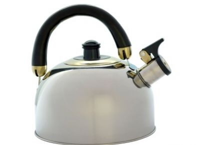 OUTDOOR CONNECTION Stainless Steel Whistling Kettle