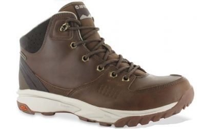 HITEC Mens Wild Life Lux I Waterproof Walking Boots Brown