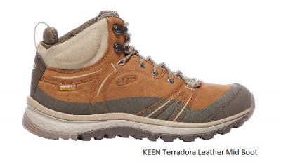 KEEN Womens Terradora Leather Walking Boot