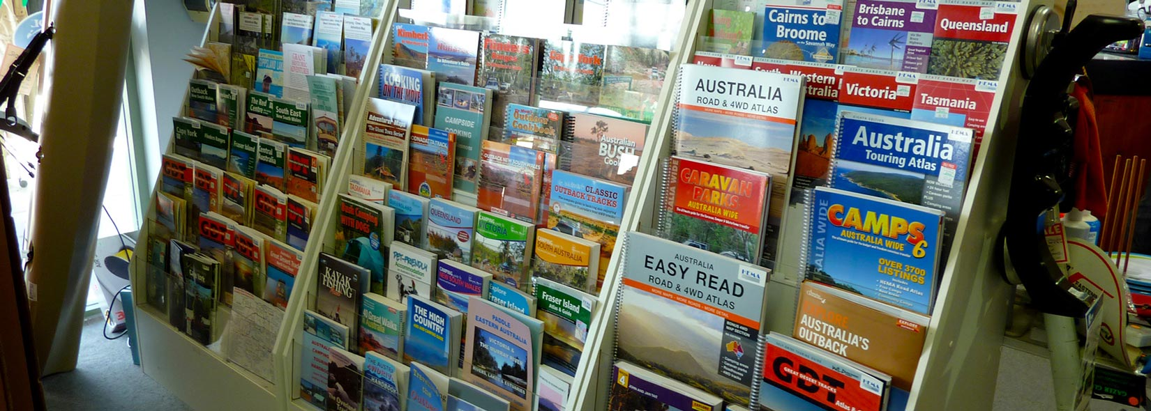 Maps and Tourism Books