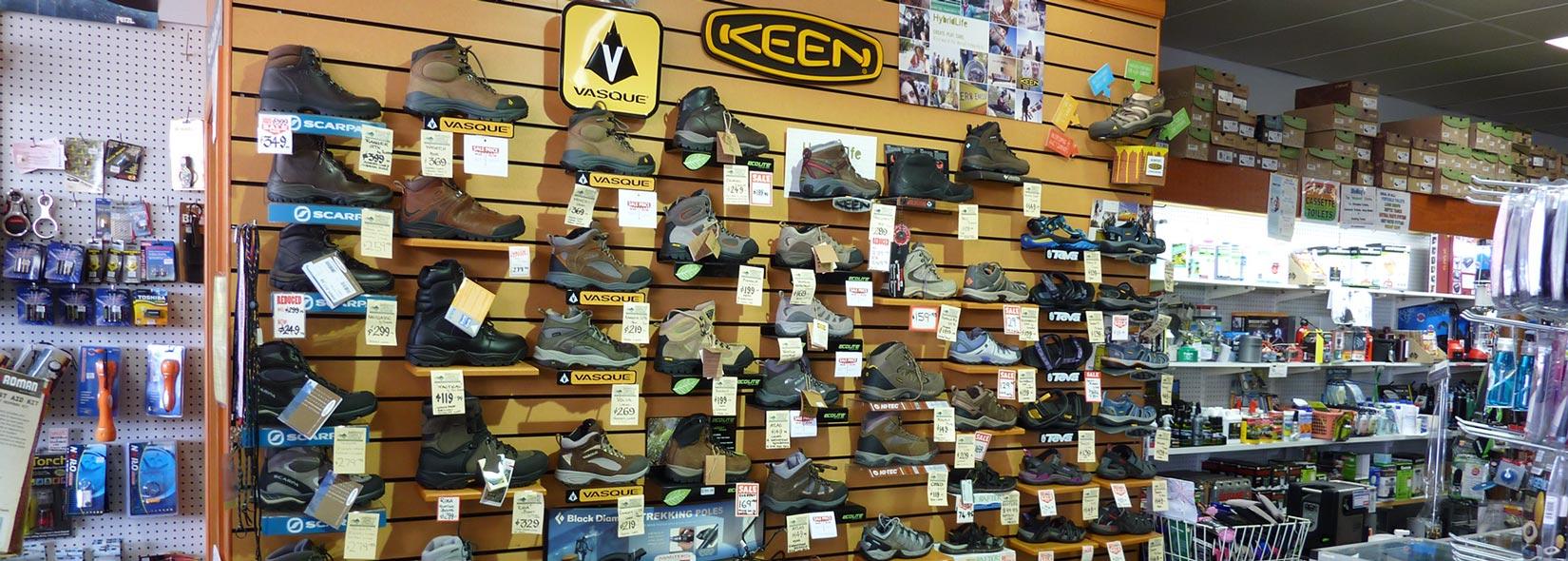 Outdoor Footware, Hiking Boots, Sandals