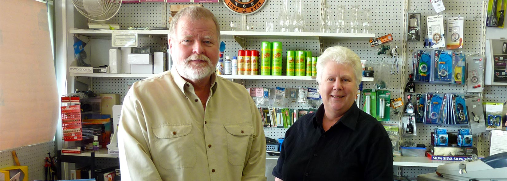 David Neale and Wendy Brownrigg, Bairnsdale Camping and Outdoors